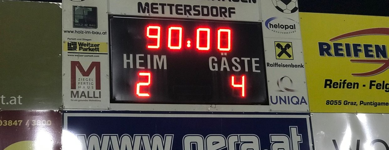 Starker Auftritt unserer Mannschaft in Mettersdorf