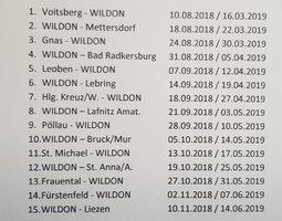 Start auswärts beim SV Voitsberg